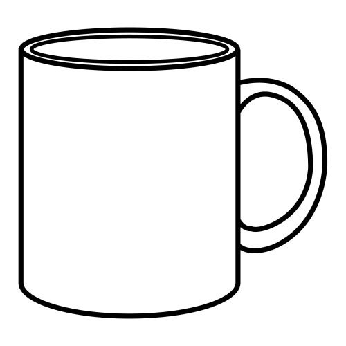 outline picture of cup outline of coffee cup most orders white cartoon hot free cup outline of picture