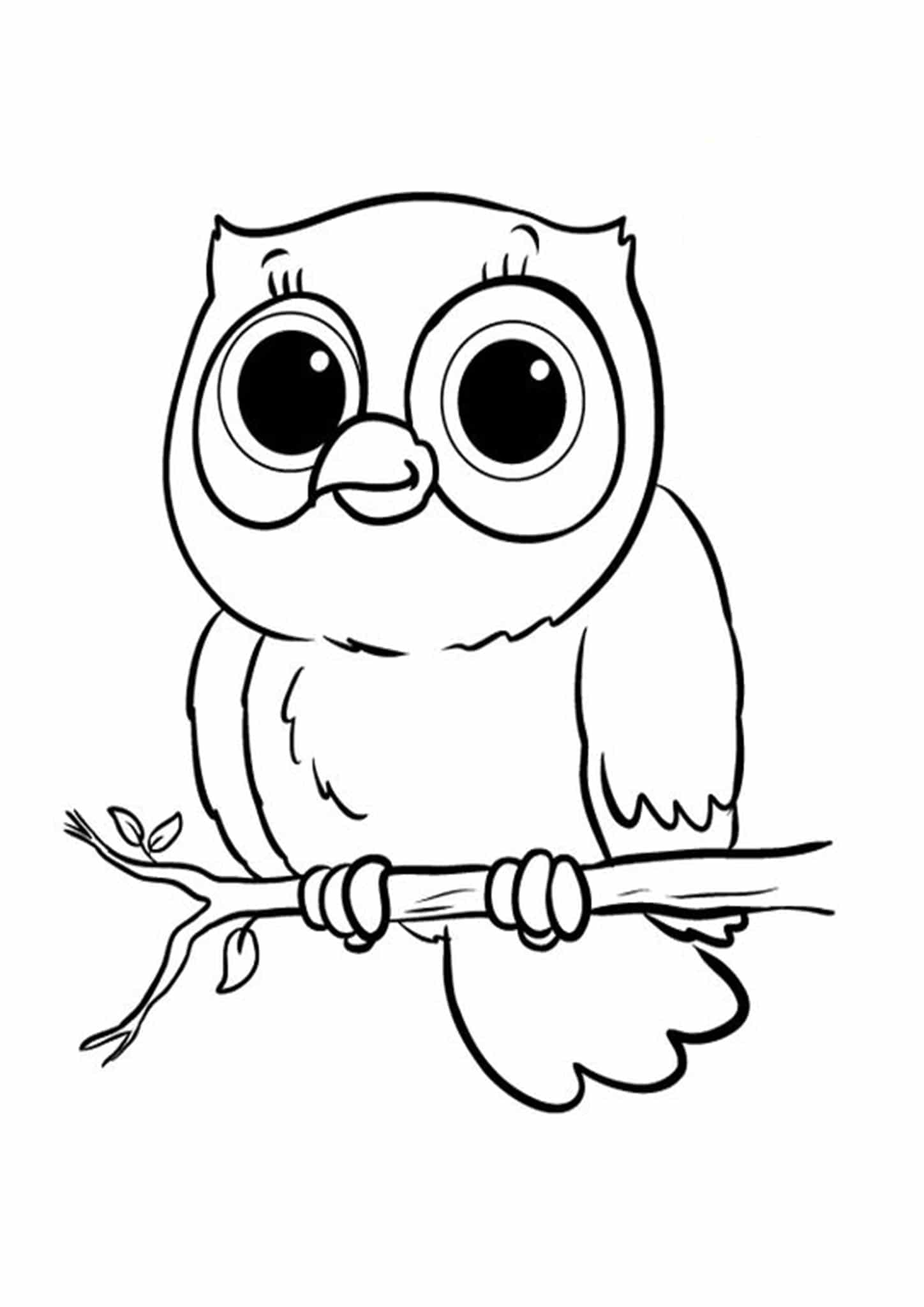owl coloring free easy to print owl coloring pages tulamama owl coloring