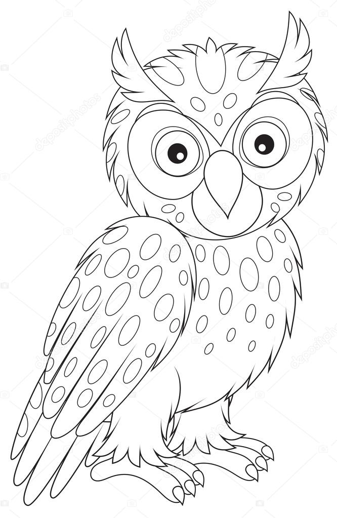 owl coloring long eared owl coloring download long eared owl coloring coloring owl