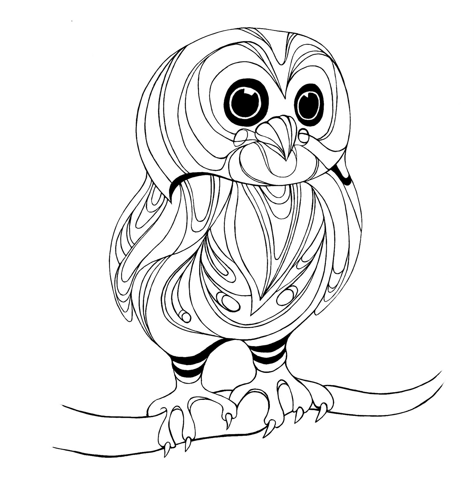 owl coloring page printable colleen keith art illustration blog woodland creatures coloring owl page printable
