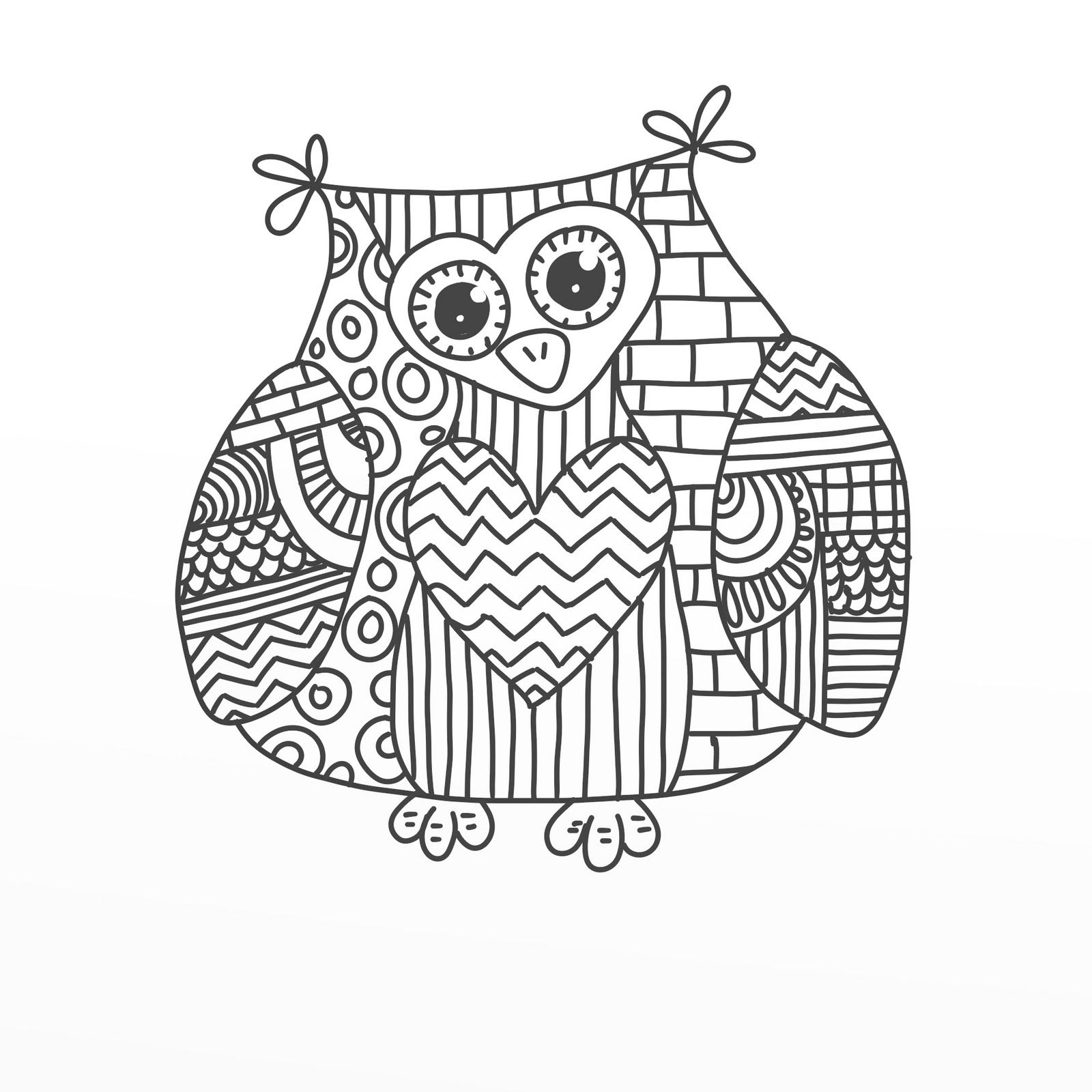 owl coloring pages free printable cute owl coloring pages for adults coloring pages owl free pages coloring printable