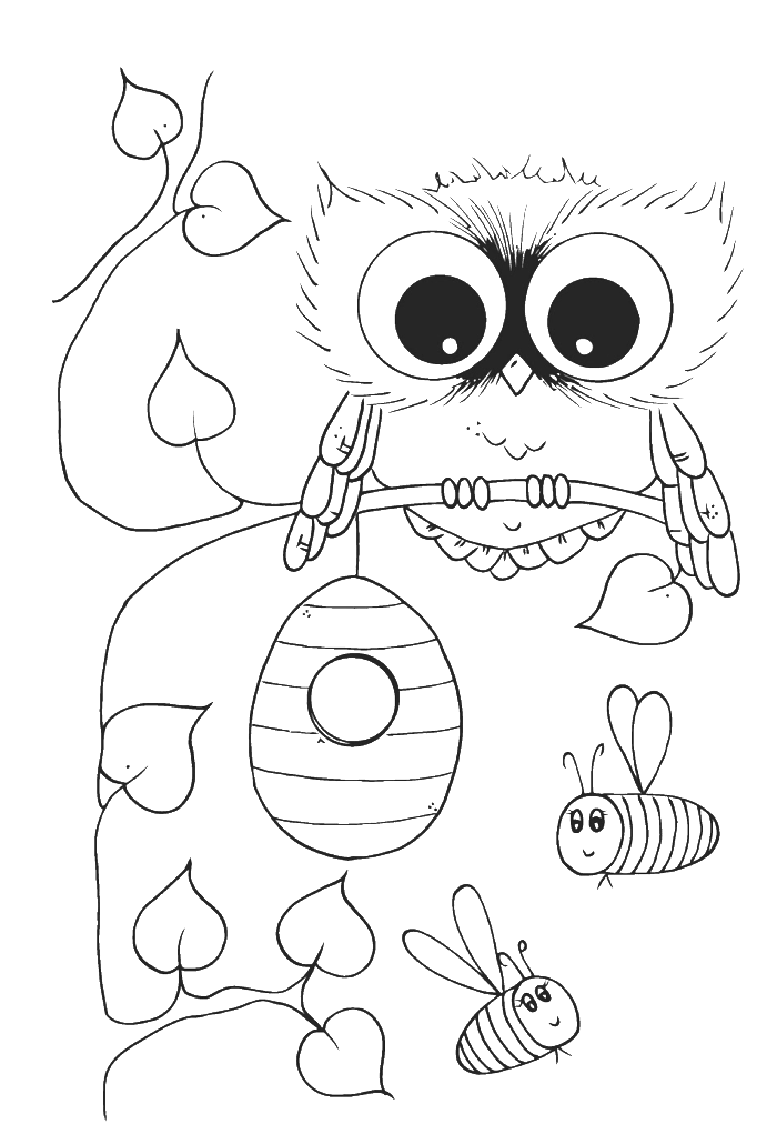 owl colouring sheets cool owl coloring pages coloring home colouring owl sheets