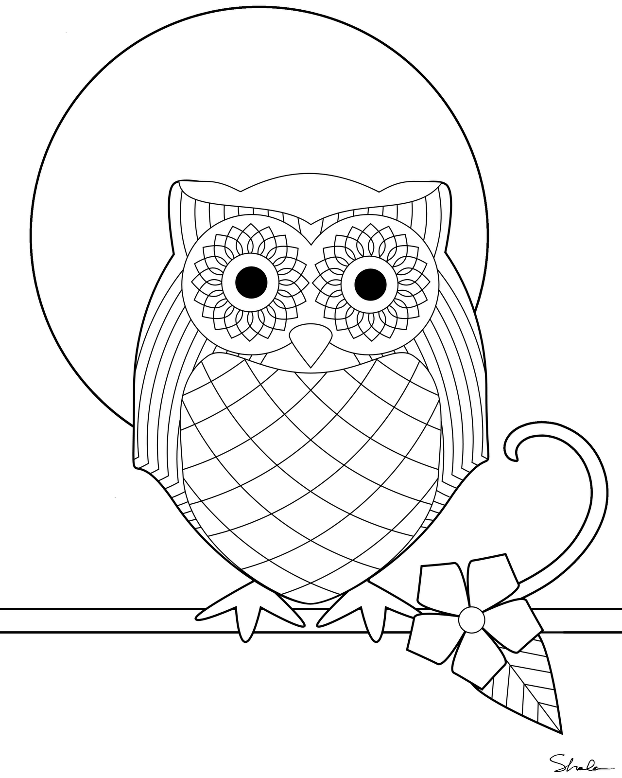 owl printable coloring pages don39t eat the paste owl coloring page pages coloring printable owl