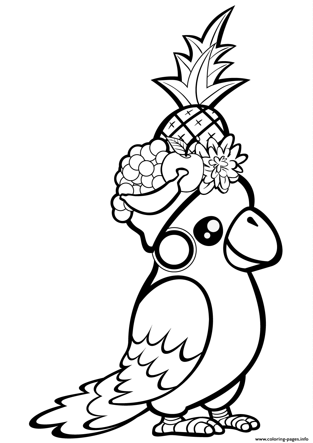parrot pictures to print cute animal coloring pages best coloring pages for kids print pictures parrot to