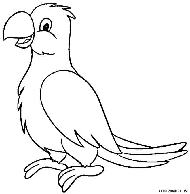parrots pictures to colour free printable parrot coloring pages for kids colour pictures parrots to