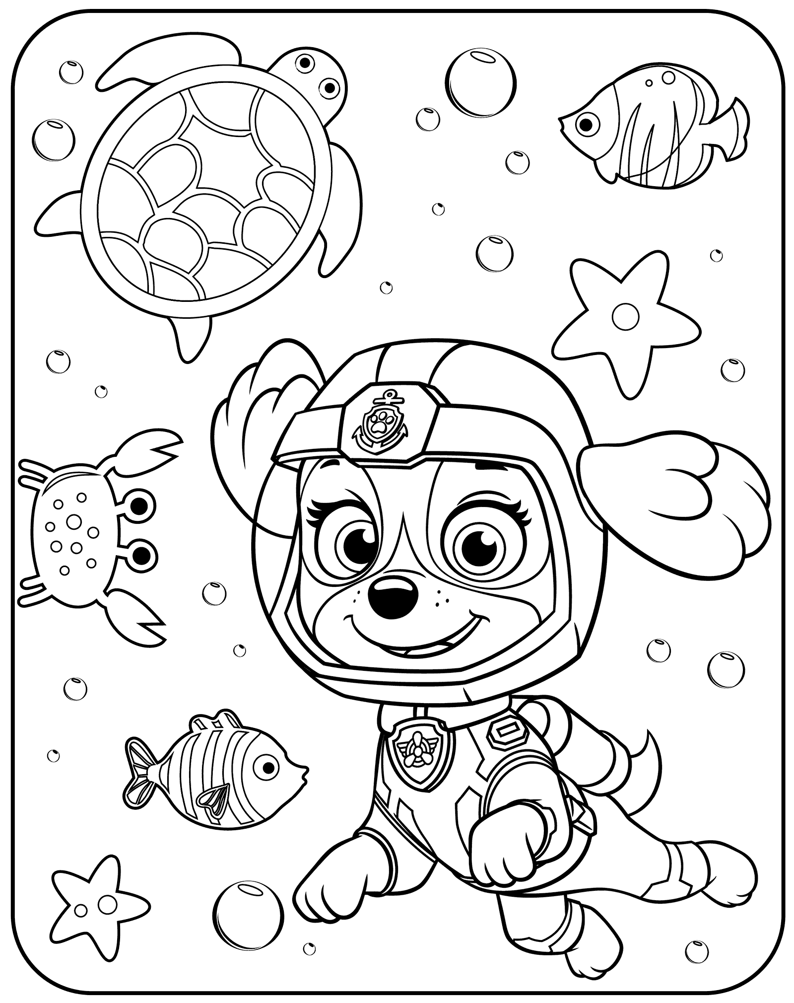 paw patrol characters paw patrol characters coloring pages at getdrawings free paw characters patrol
