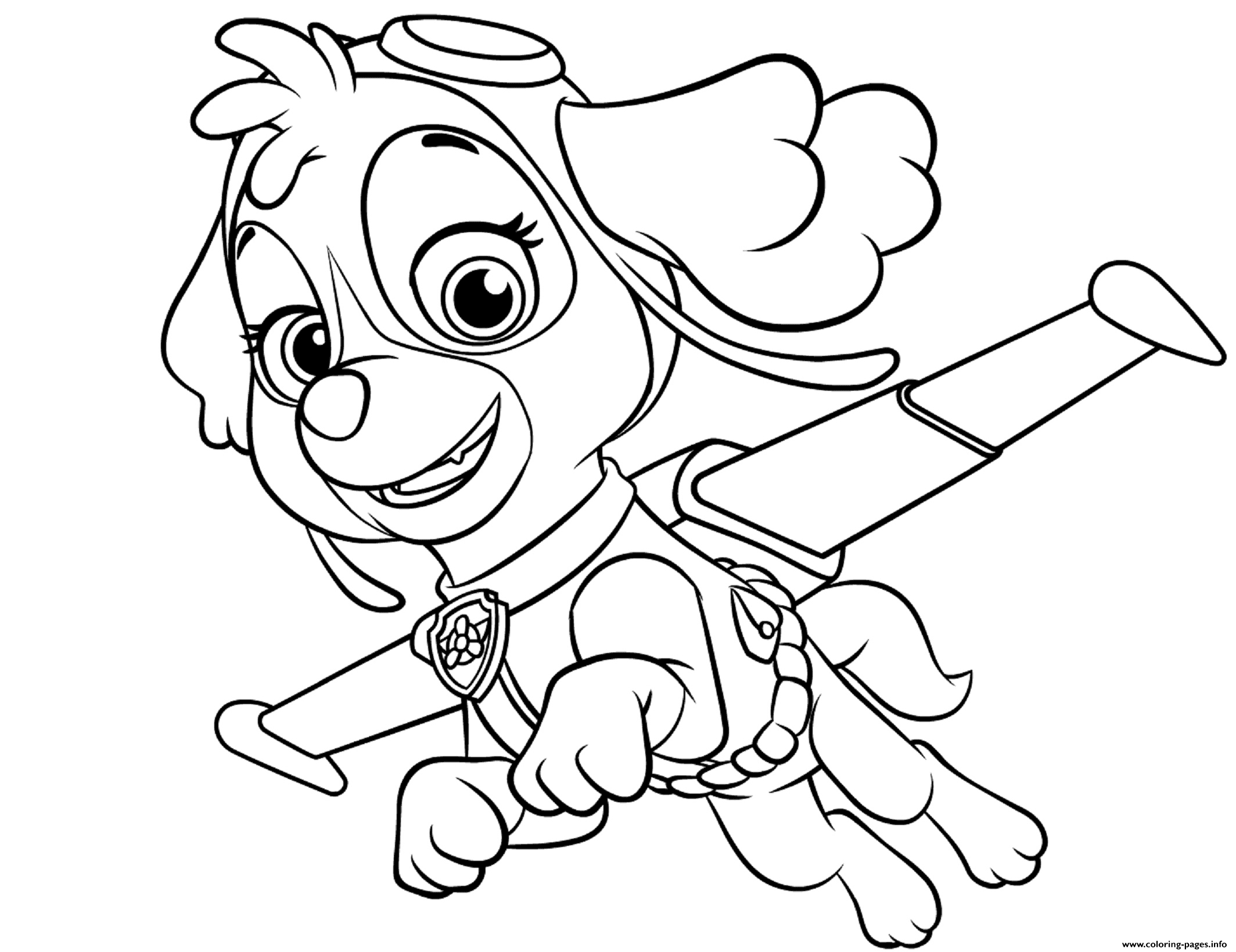 paw patrol coloring outline free paw patrol coloring pages happiness is homemade coloring patrol paw outline