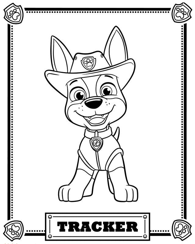paw patrol lookout coloring page chase paw patrol coloring page mzinepluscom page patrol lookout paw coloring