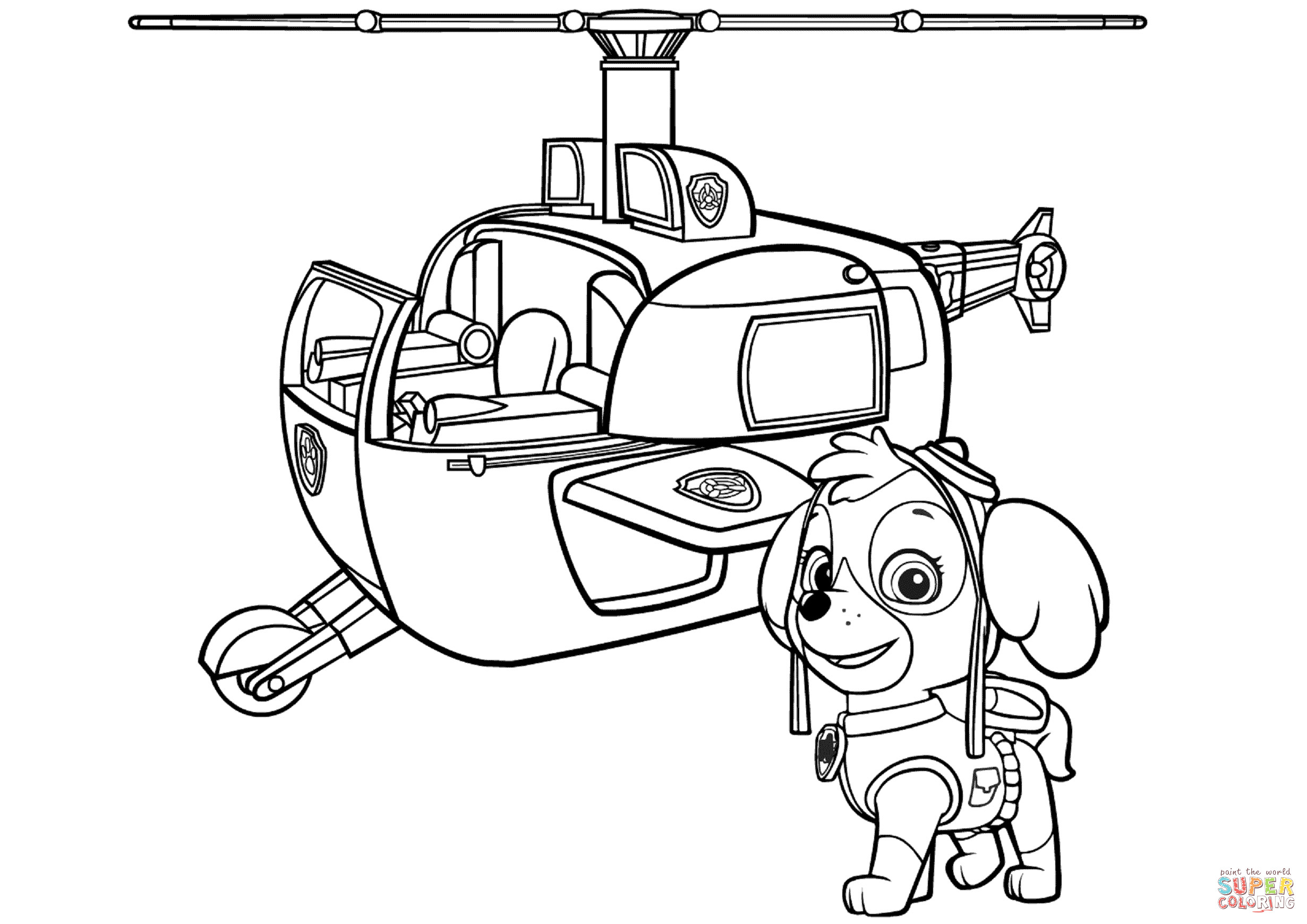 paw patrol lookout coloring page pin on paw coloring page patrol page lookout coloring paw
