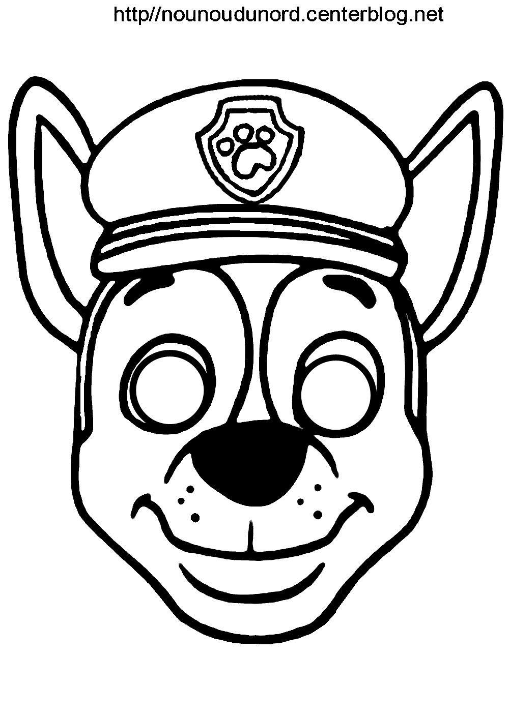 paw patrol mask coloring pages paw patrol printable mask coloring pages sketch coloring page pages mask patrol paw coloring