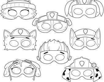 paw patrol mask coloring pages pin de sunel victor em paw patrol patrulha canina em mask paw pages coloring patrol