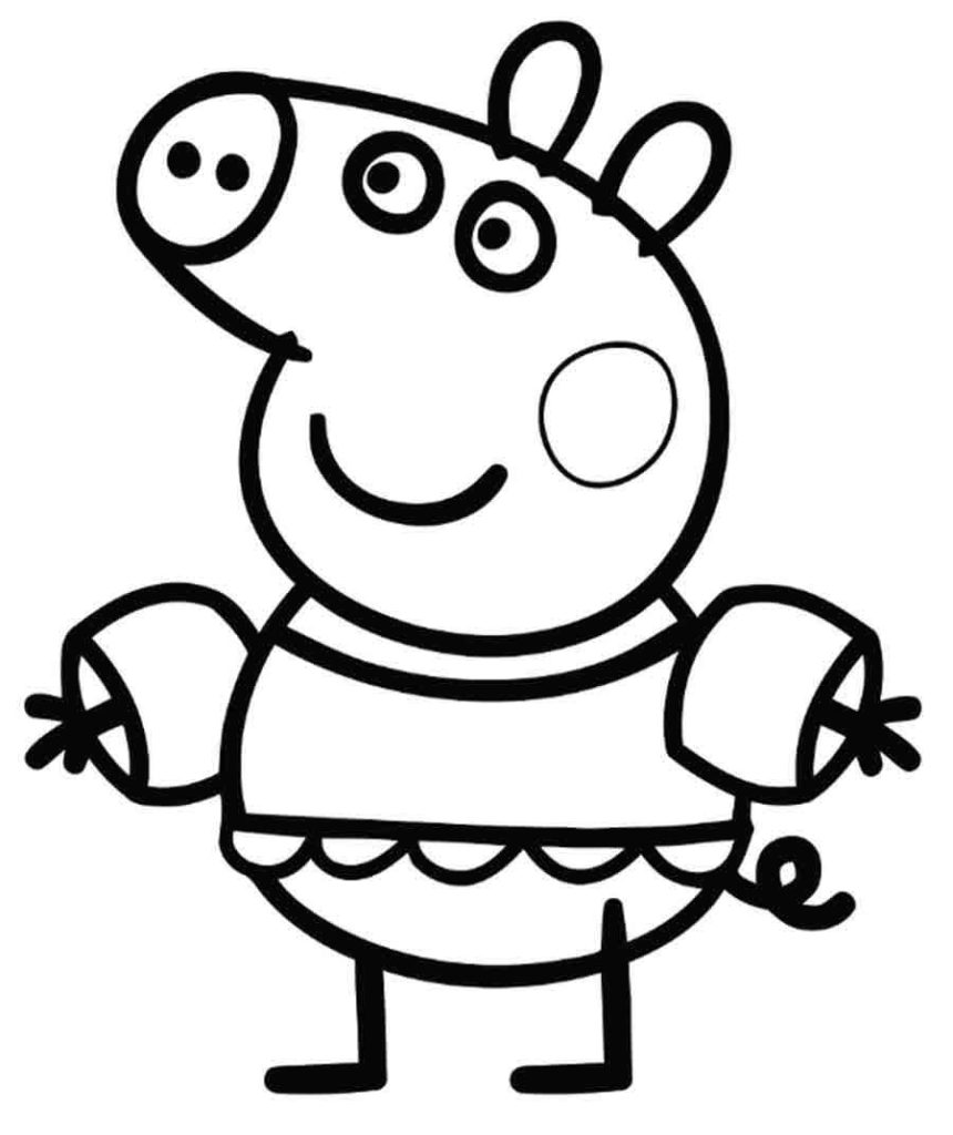 peppa pig colouring pages online peppa pig coloring pages coloring pages for kids colouring pages online pig peppa