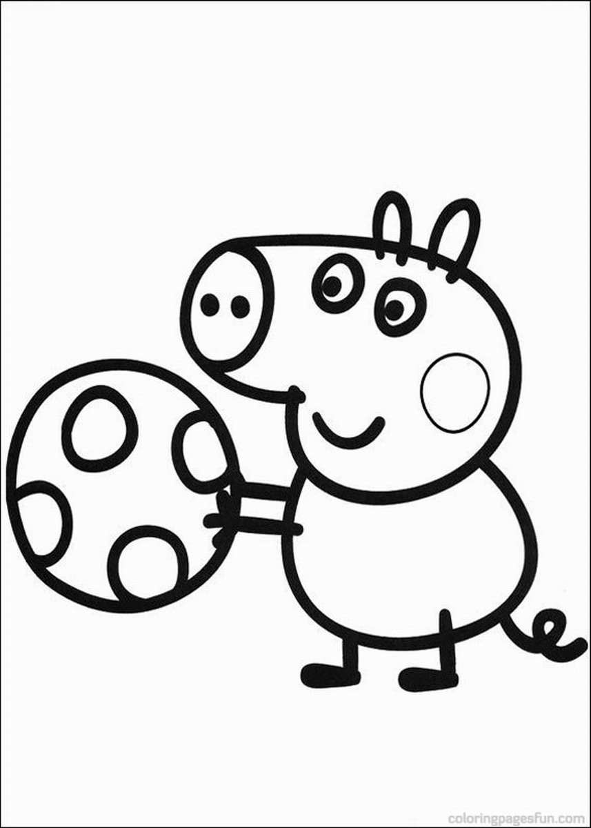 peppa pig colouring pages online peppa pig coloring pages peppa online pig colouring pages
