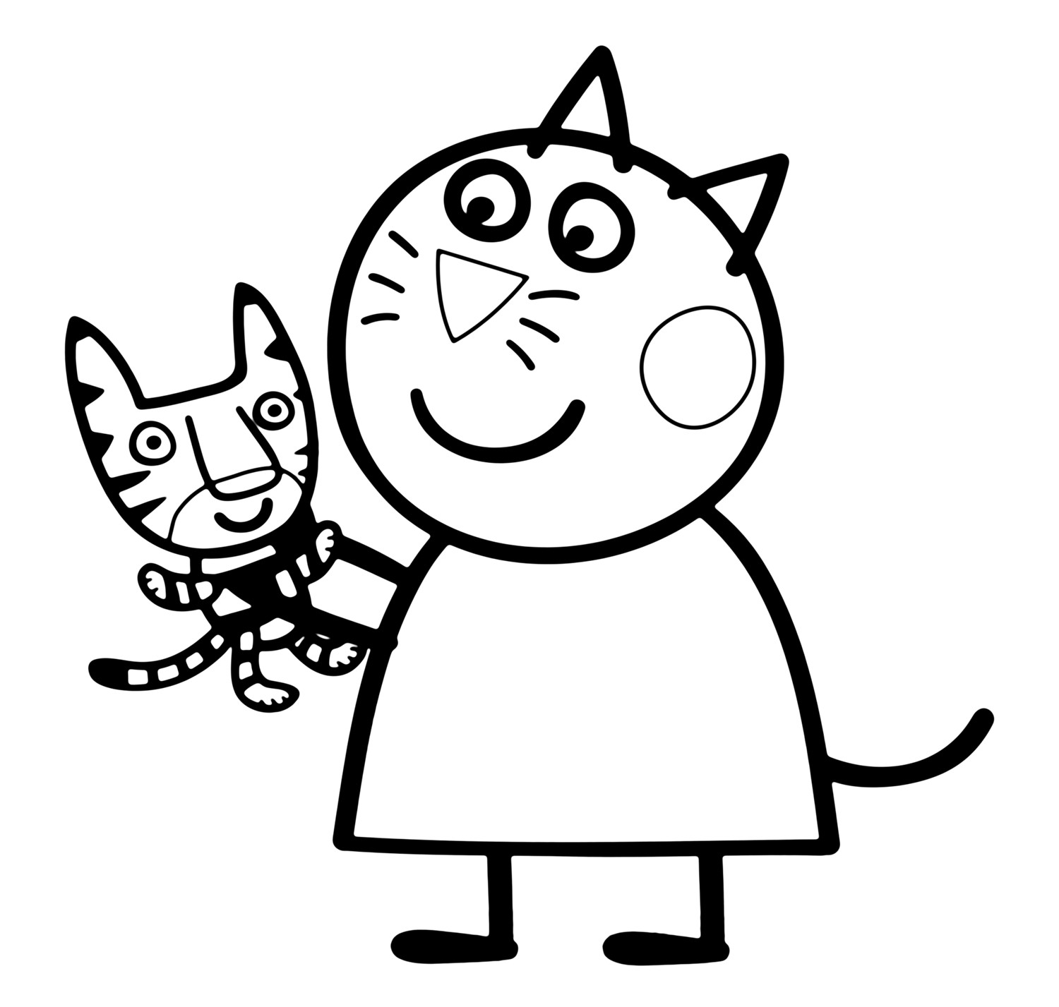 peppa pig colouring pages online the best free peppa coloring page images download from online colouring peppa pig pages