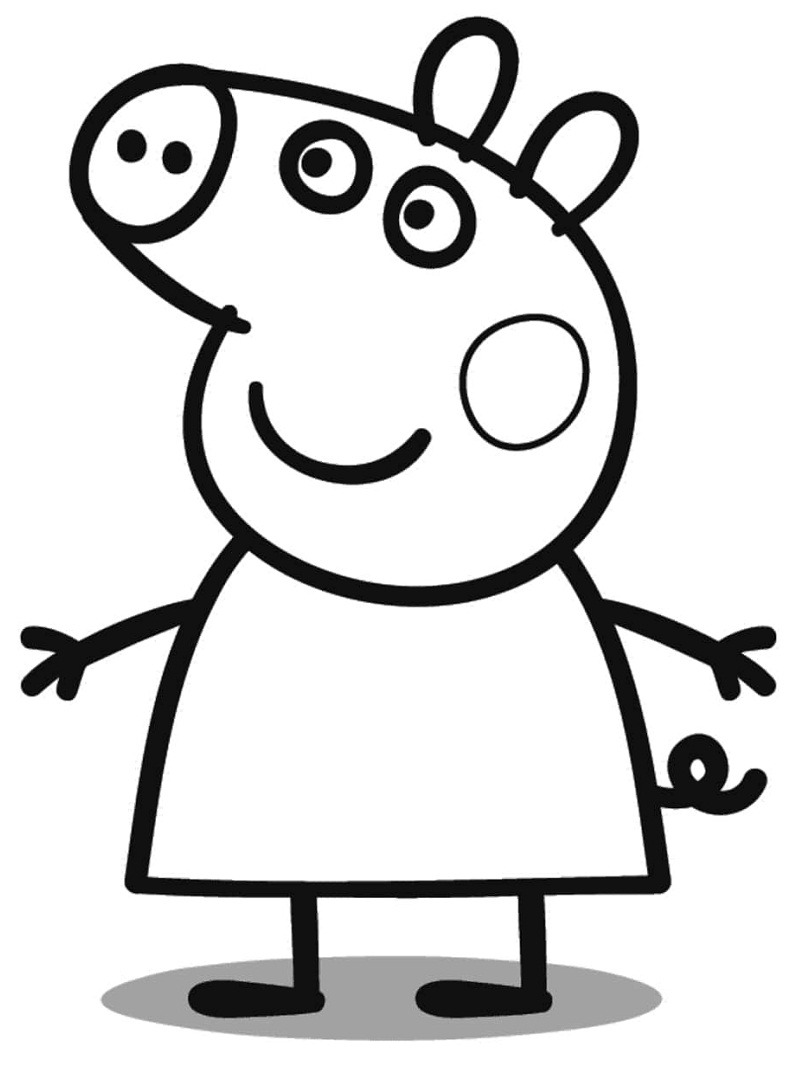 peppa pig colouring pages online top 20 printable peppa pig coloring pages online pages colouring peppa pig online