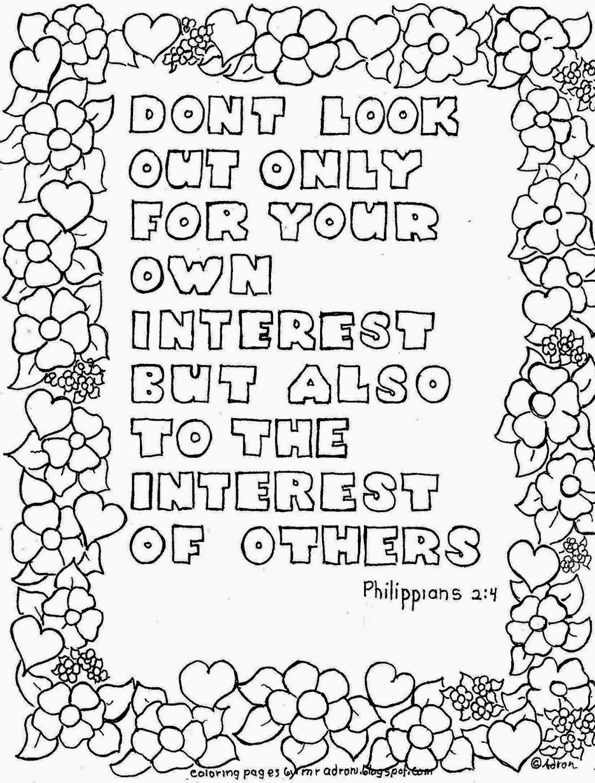 philippians 4 8 coloring page coloring pages for kids by mr adron look to the interest philippians page coloring 4 8