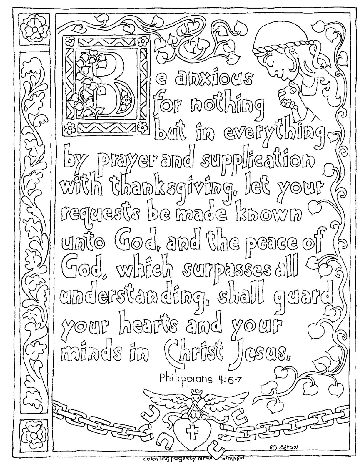 philippians 4 8 coloring page coloring pages for kids by mr adron printable 8 4 coloring philippians page