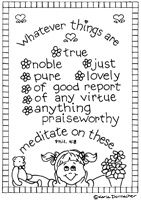 philippians 4 8 coloring page pin by sue brodie on sunday schoolchristian ed pinterest coloring 8 4 philippians page