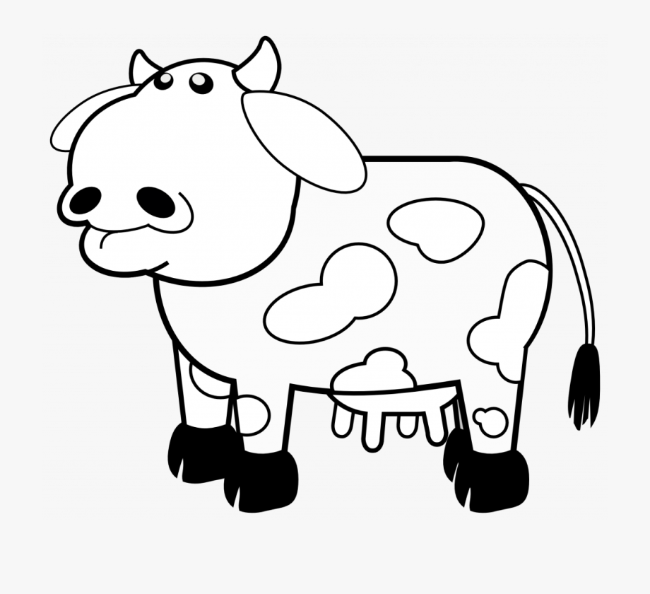 picture of a cow to colour cartoon cow coloring page free printable coloring pages cow to picture of colour a