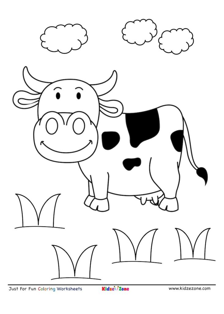 picture of a cow to colour cow drawing outline at getdrawings free download picture cow colour to a of