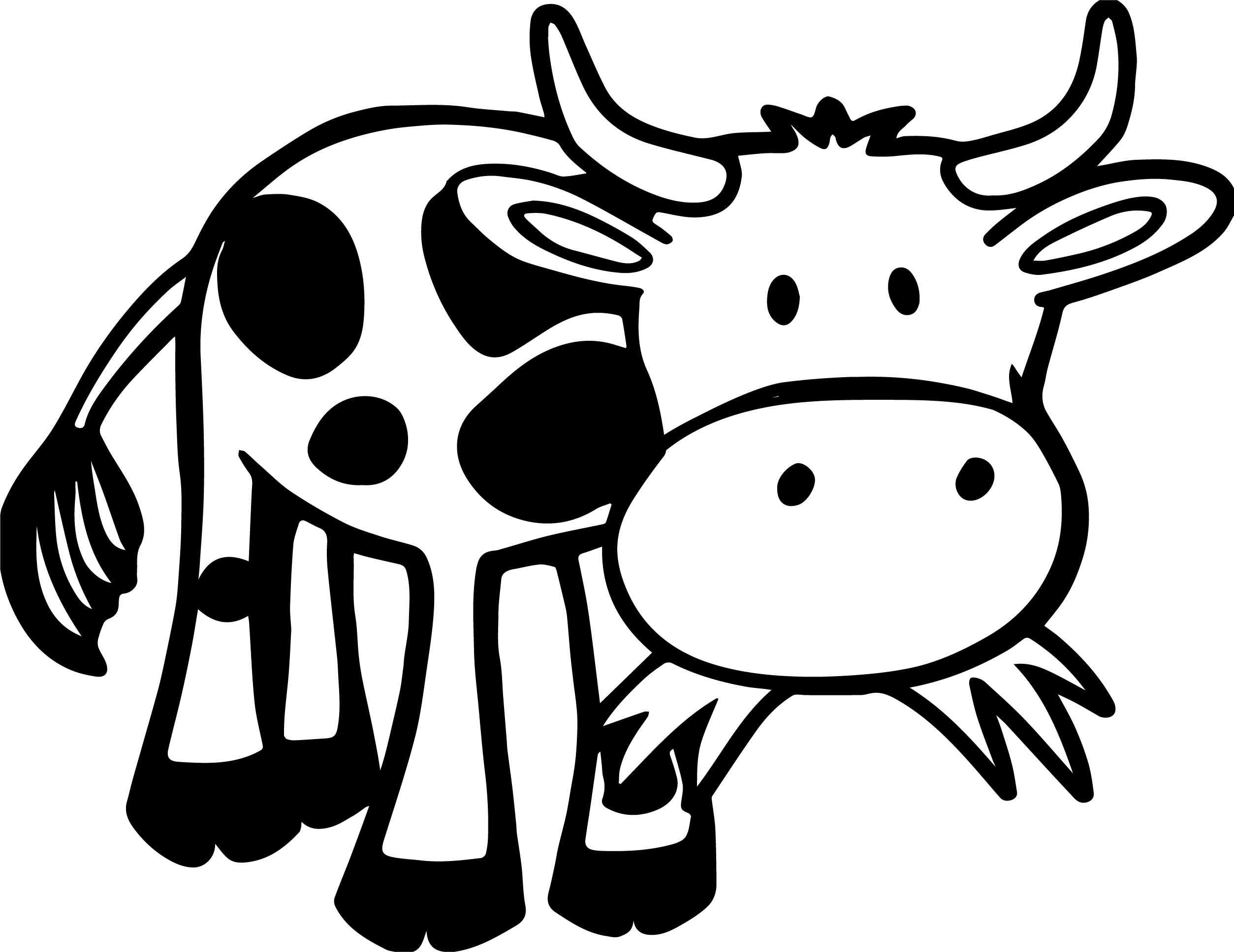 picture of a cow to colour cute cow coloring pages to print cow coloring pages to colour of cow a picture