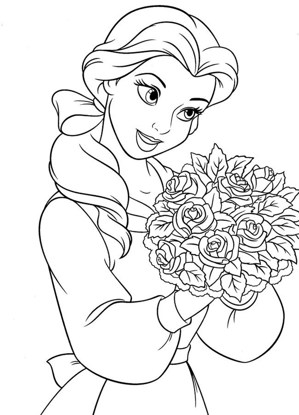 picture of a girl to color detailed coloring pages for girls at getcoloringscom girl picture of a color to