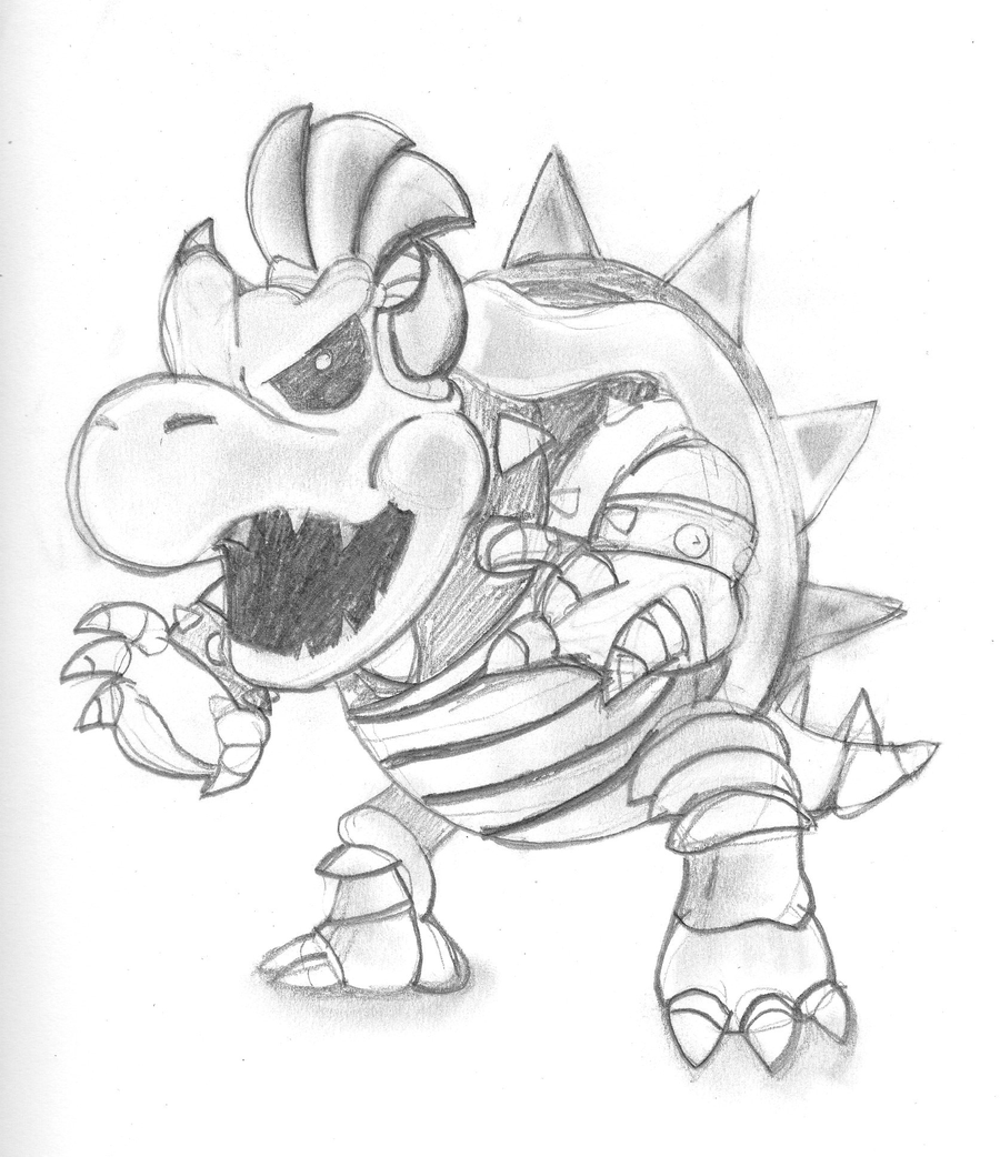 picture of bowser bowser by chauvels on deviantart of bowser picture