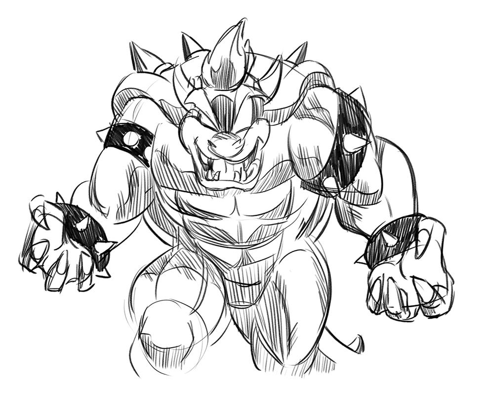 picture of bowser bowser coloring by blistinaorgin on deviantart bowser of picture