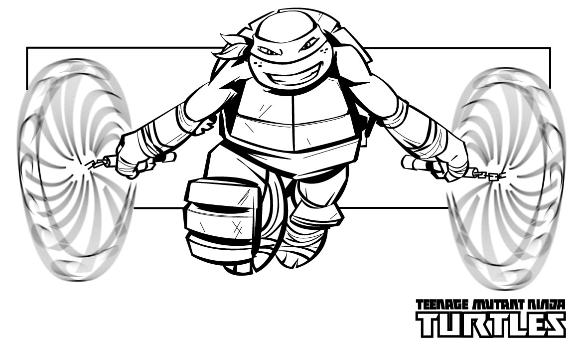 picture of ninja turtle ninja turtles coloring pages from animated cartoons of picture ninja turtle of