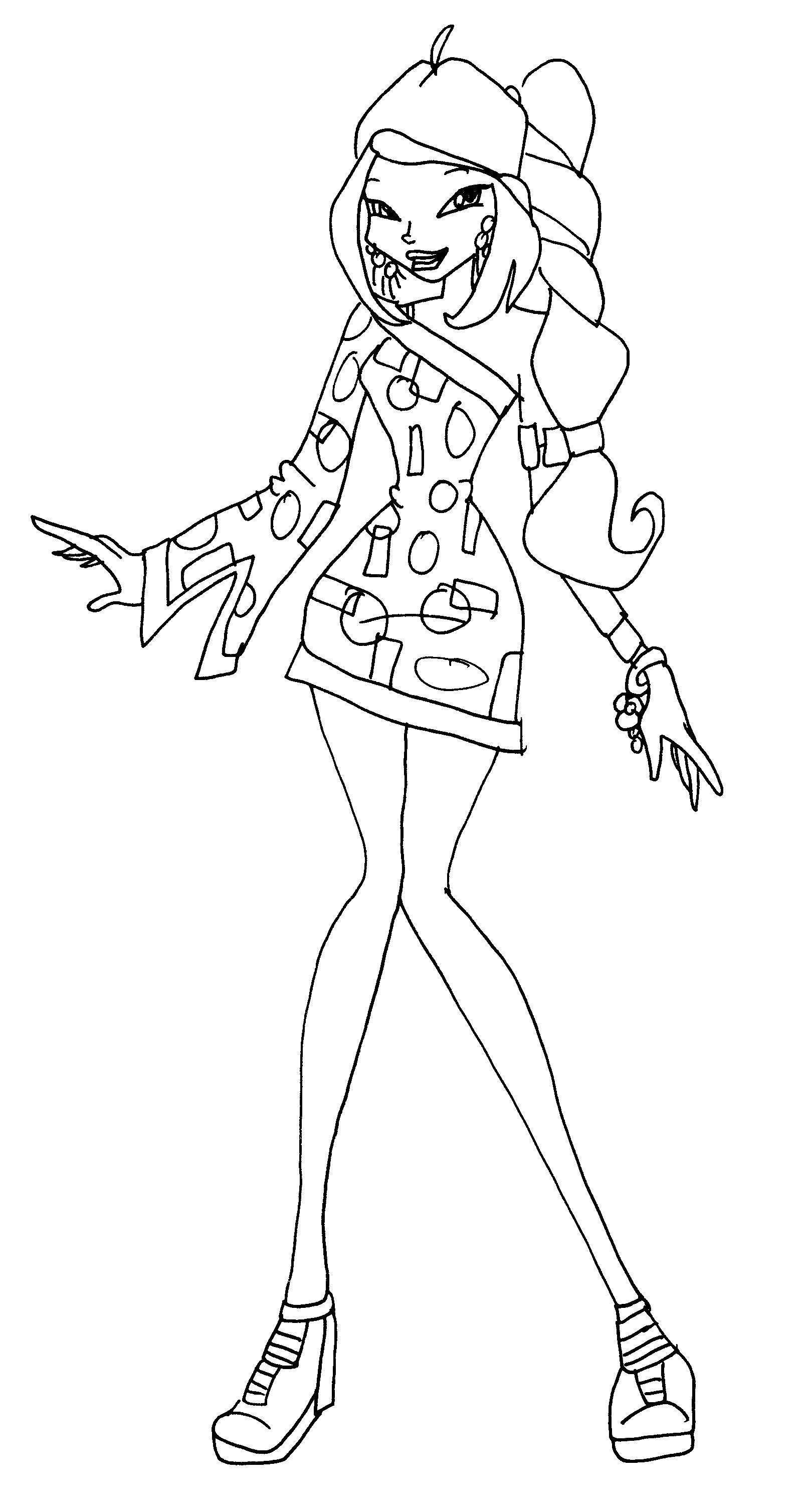 picture winx club learn how to draw roxy from winx club winx club step by picture winx club