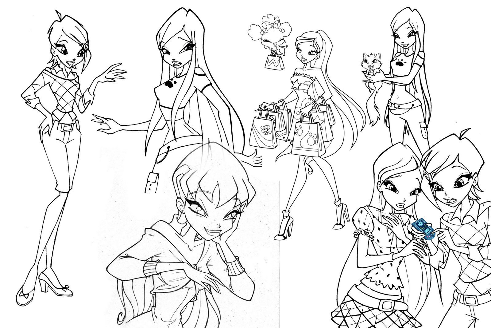 picture winx club winx club bloom drawing at getdrawings free download club picture winx