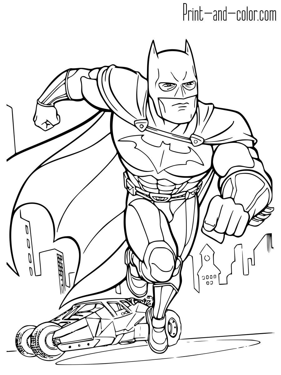 pictures of batman to color free printable batman coloring pages for kids color to pictures of batman