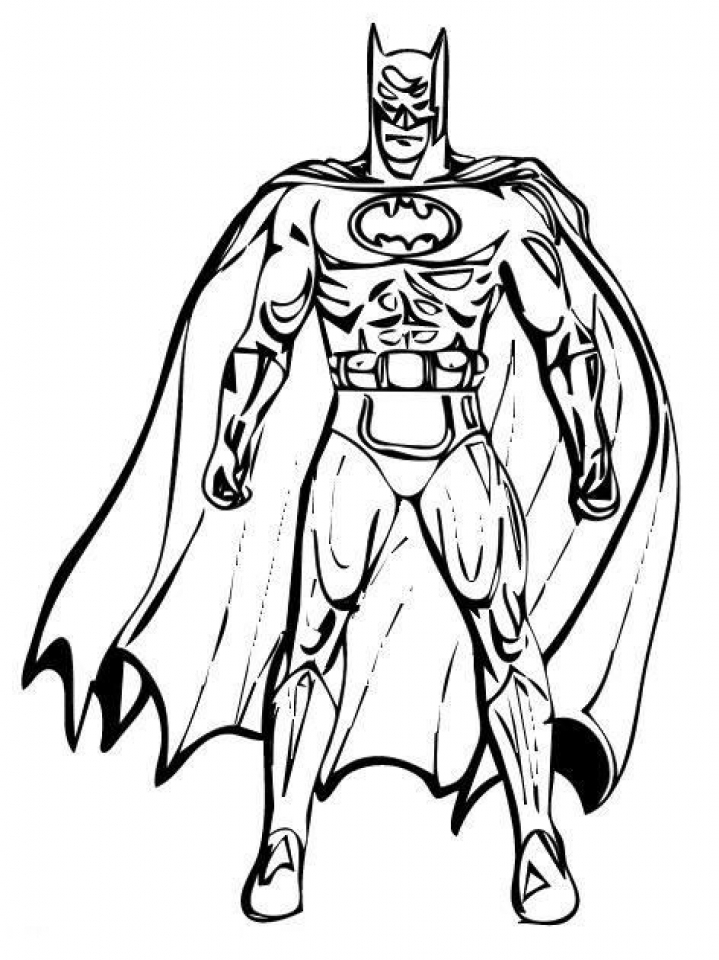 pictures of batman to color print download batman coloring pages for your children color pictures of batman to