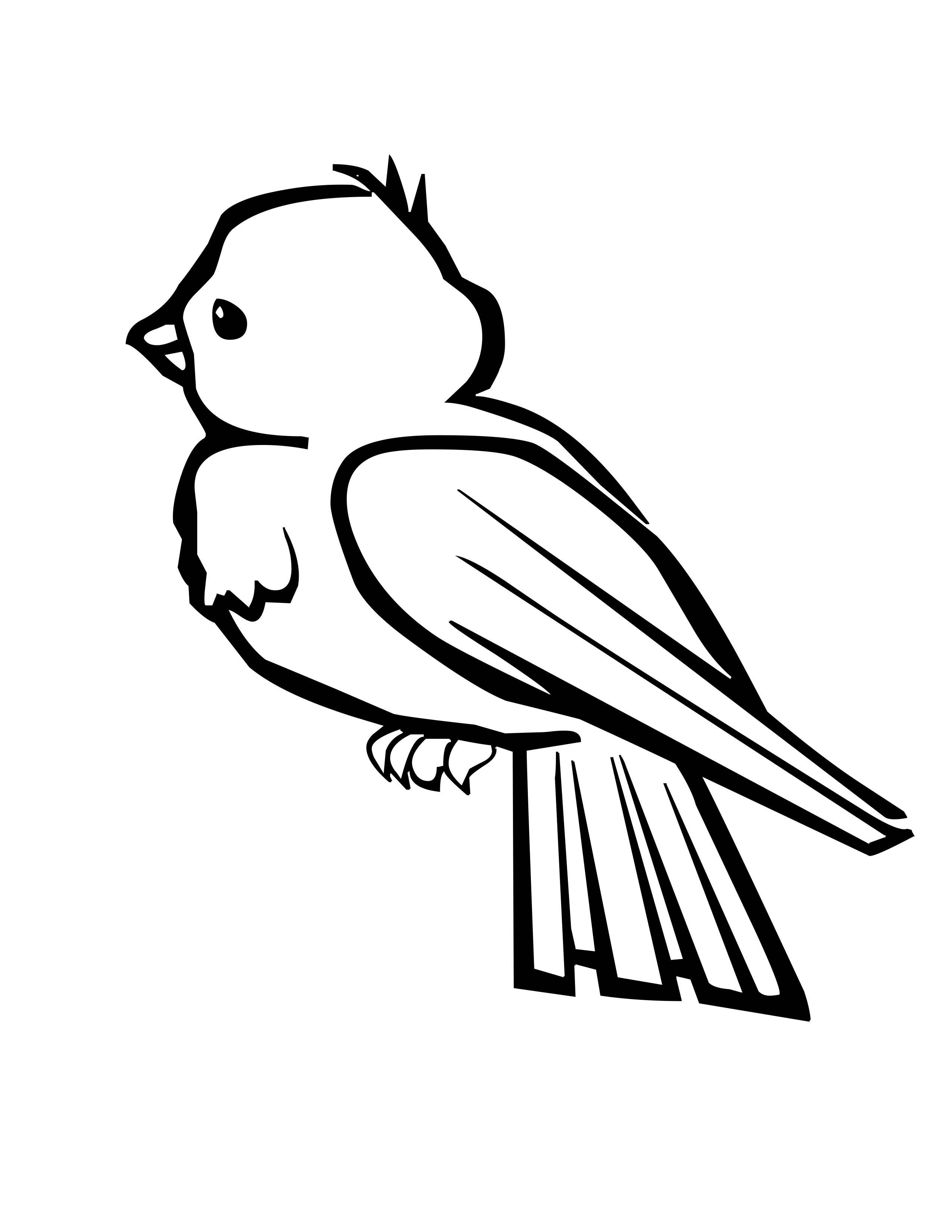 pictures of birds to color birds coloring page happy family art pictures to color of birds
