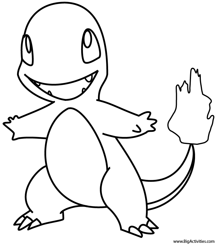 pictures of charmander the pokemon charmander coloring page pokemon charmander coloring of charmander pictures pokemon the