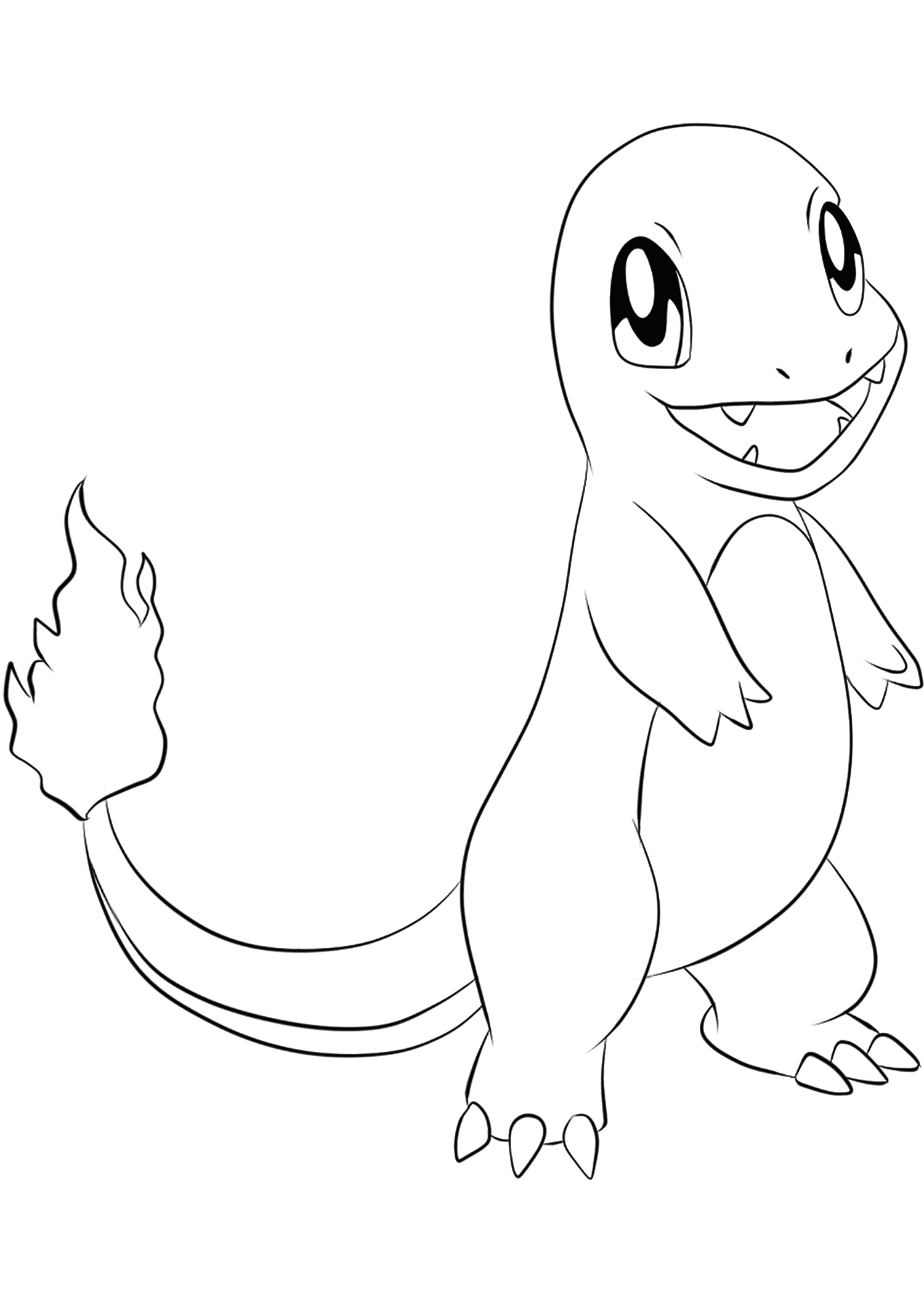 pictures of charmander the pokemon charmander coloring pages free pokemon coloring pages of pictures pokemon the charmander