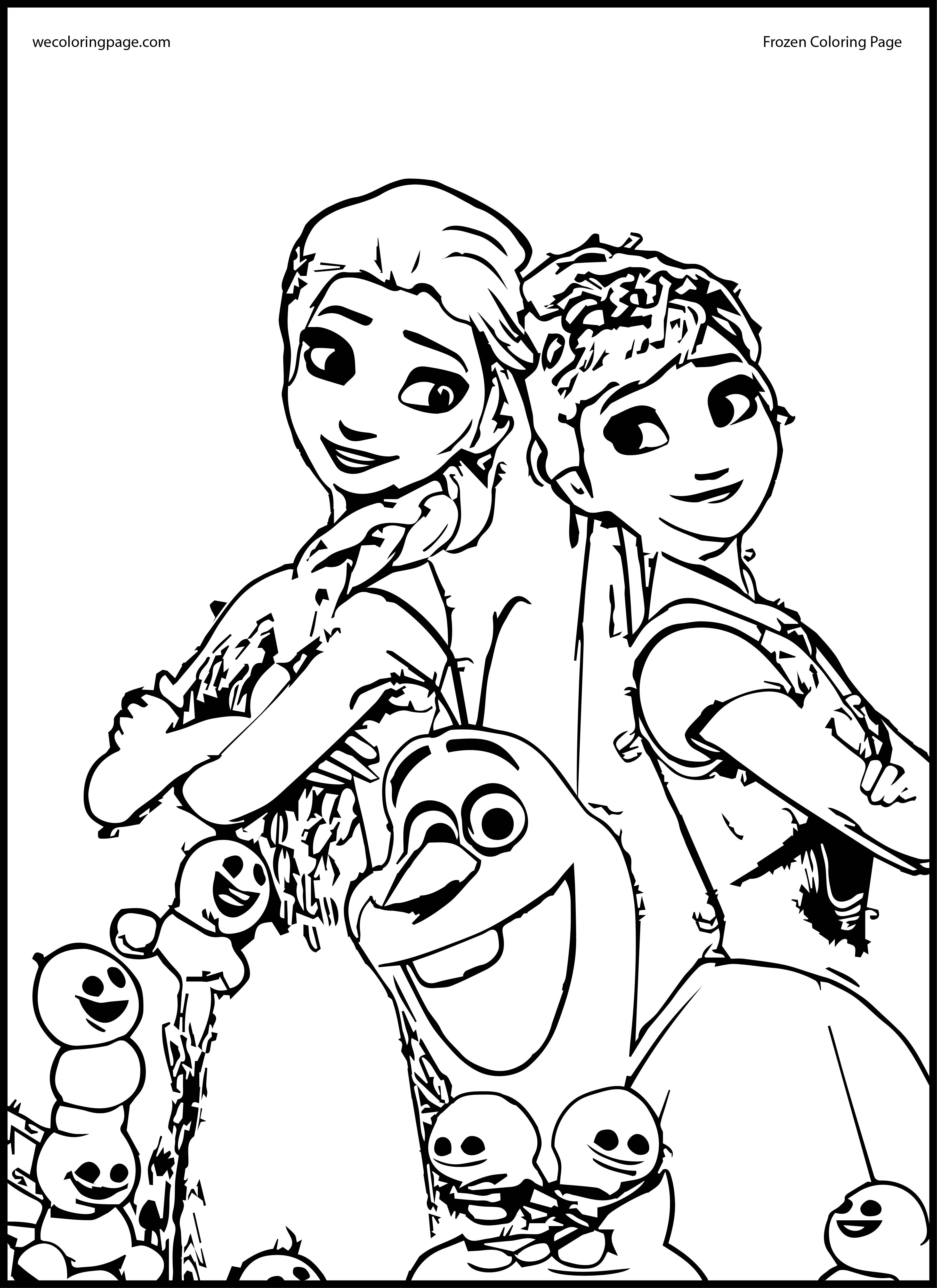 pictures of frozen to color elsa and anna coloring pages coloring home pictures frozen of to color