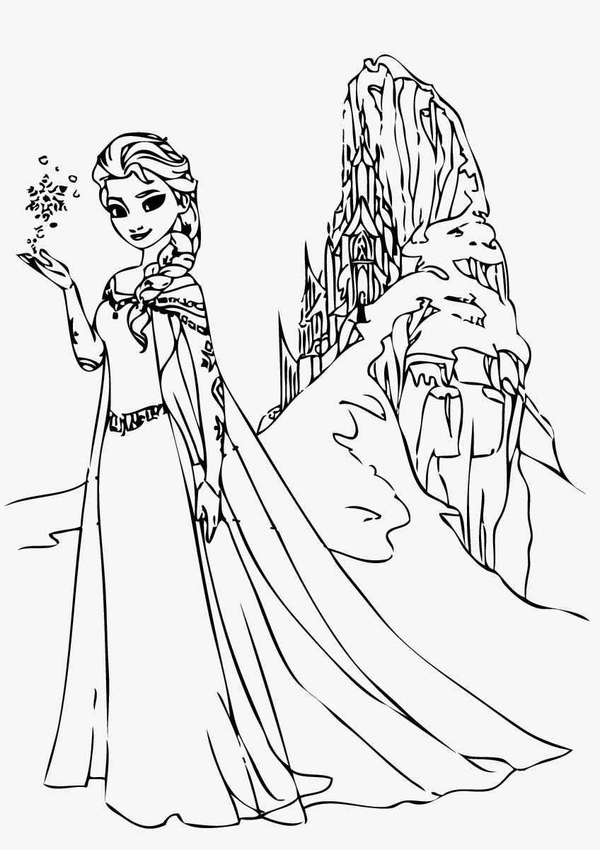 pictures of frozen to color free printable elsa coloring pages for kids best to frozen of pictures color
