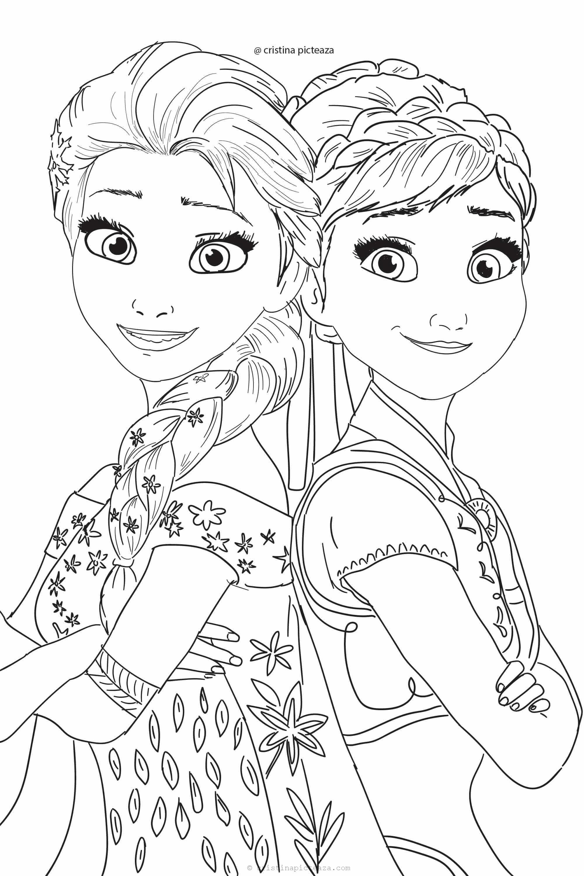 pictures of frozen to color frozen 2 coloring pages elsa and anna coloring frozen of to color pictures
