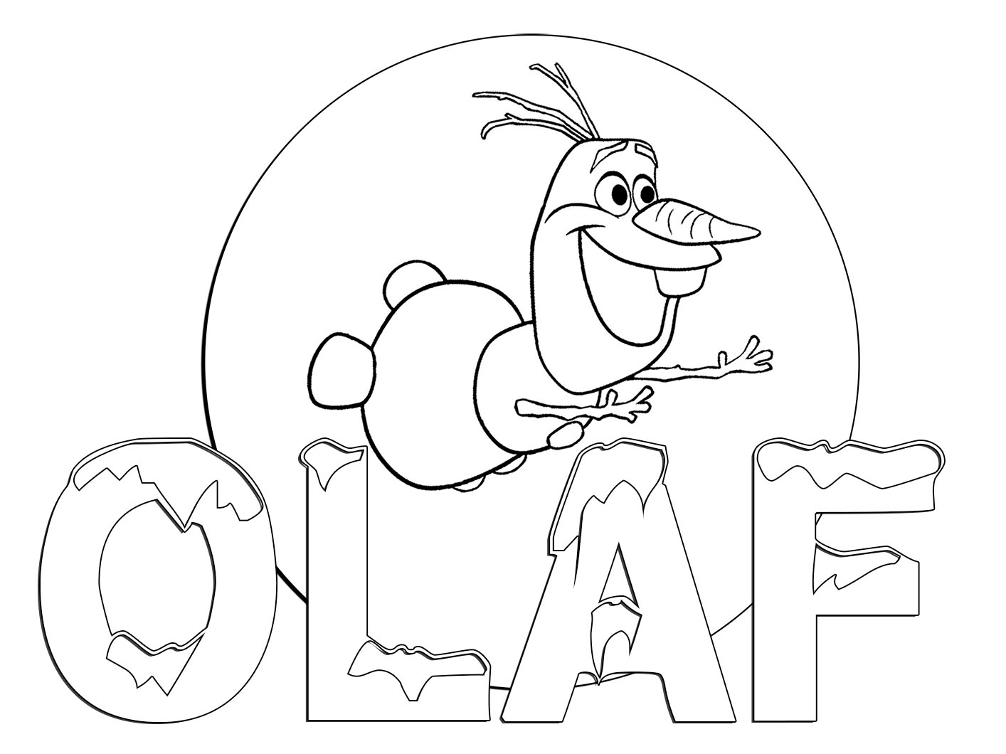 pictures of frozen to color olaf free coloring page frozen coloring book to pictures frozen of color