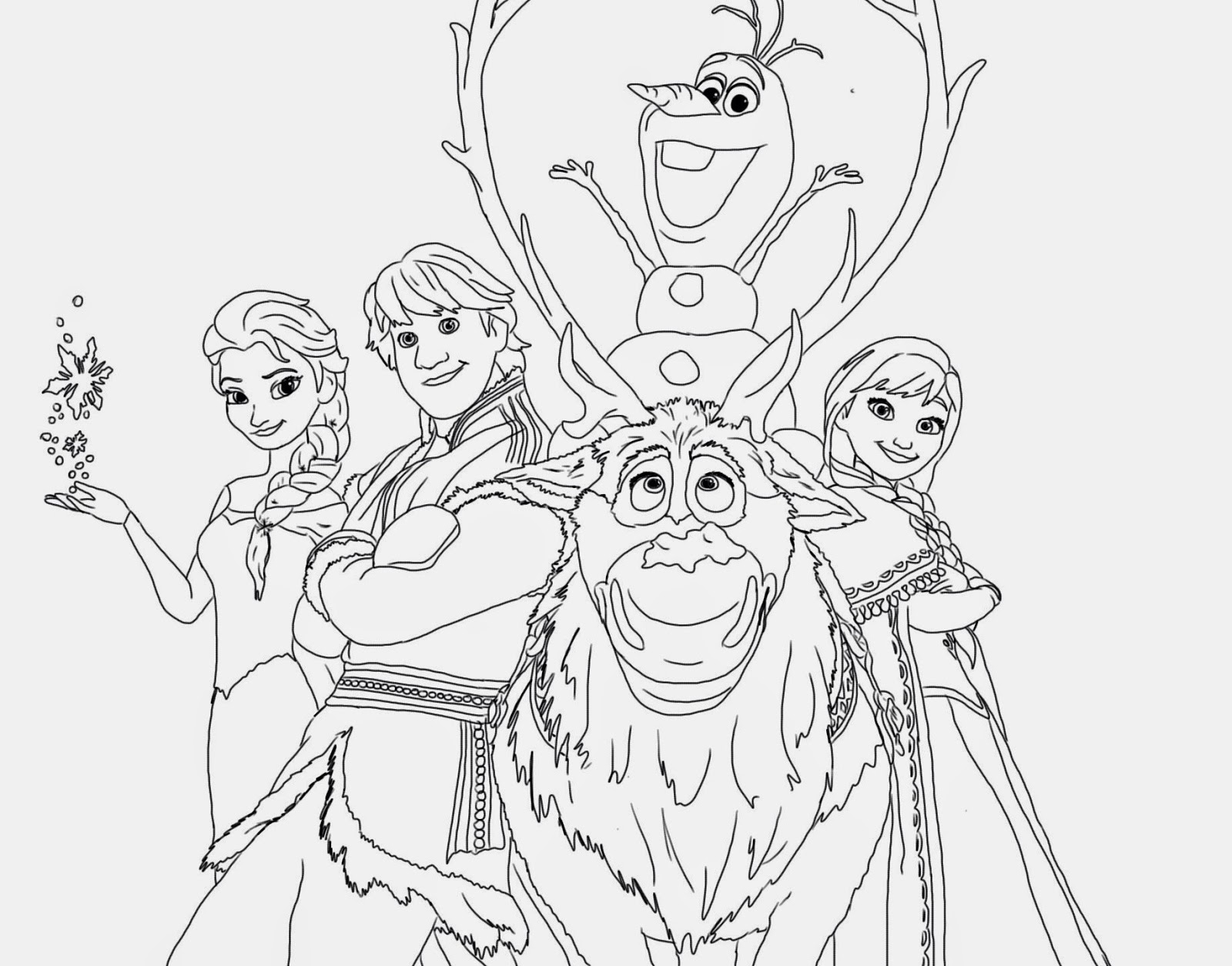 pictures of frozen to color oloff from frozen party invitations ideas of color pictures frozen to