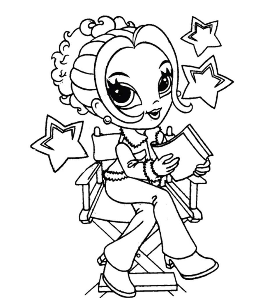 pictures of girls coloring pages adult coloring page girl portrait and clothes colouring coloring of pages pictures girls