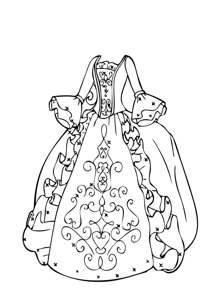 pictures of girls coloring pages ball gown coloring page for girls printable free girls coloring pictures pages of