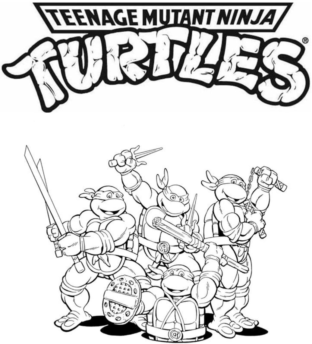 pictures of ninja turtles to color pictures of ninja turtles to color to of turtles color ninja pictures