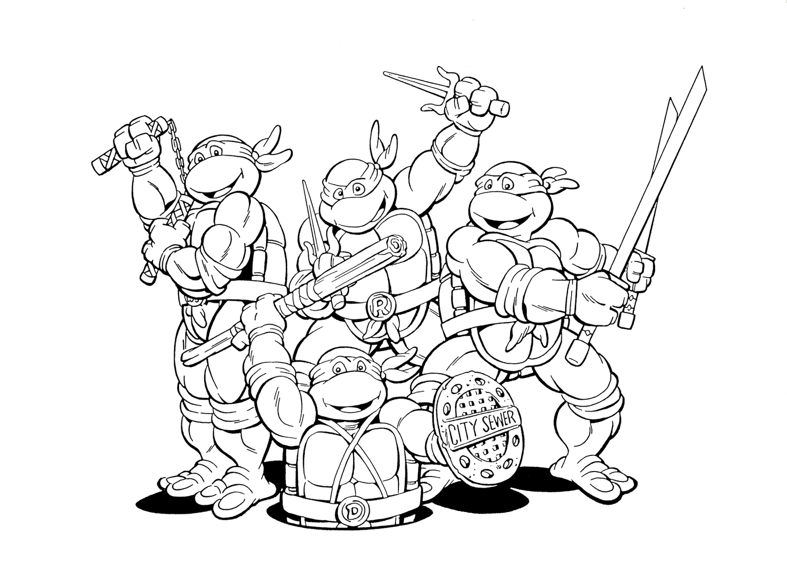 pictures of ninja turtles to color turtle best eat pizza coloring page teenage mutant turtles to ninja of pictures color