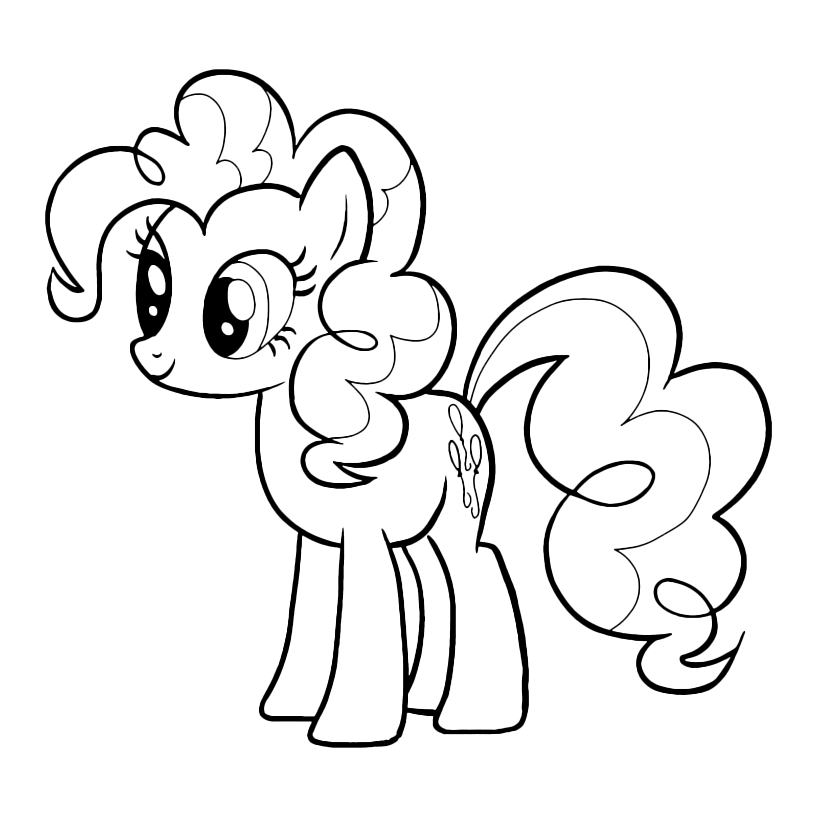 pictures of pinkie pie pinkie pie with color cm by fluttershy7 on deviantart pie of pinkie pictures