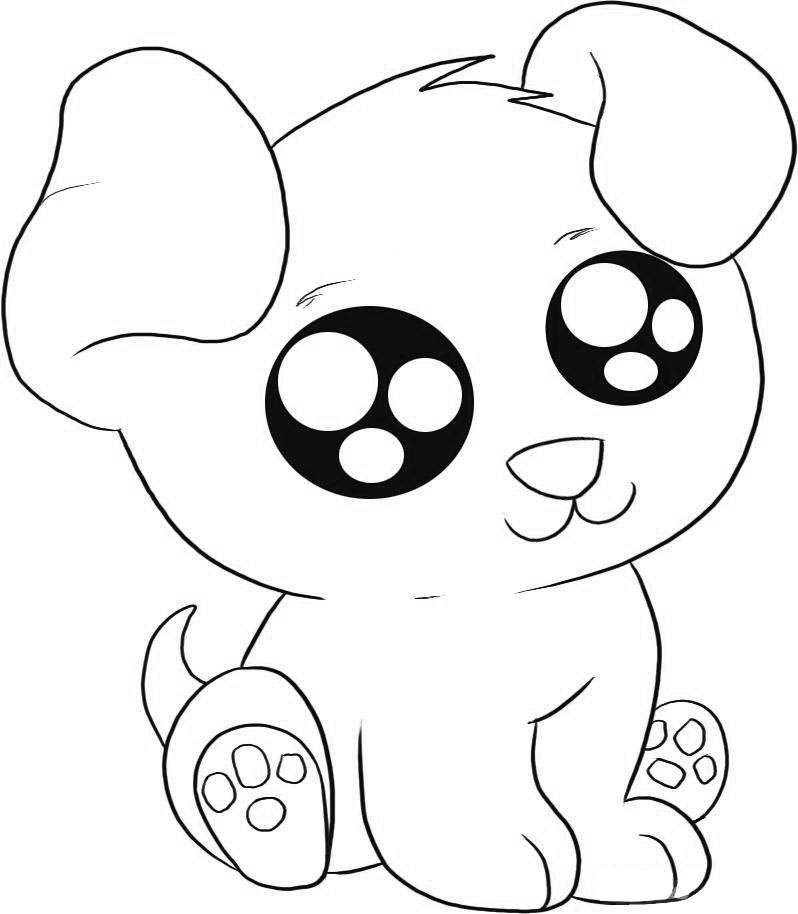 pictures of puppies to color cartoon puppy coloring pages at getdrawings free download of to pictures puppies color