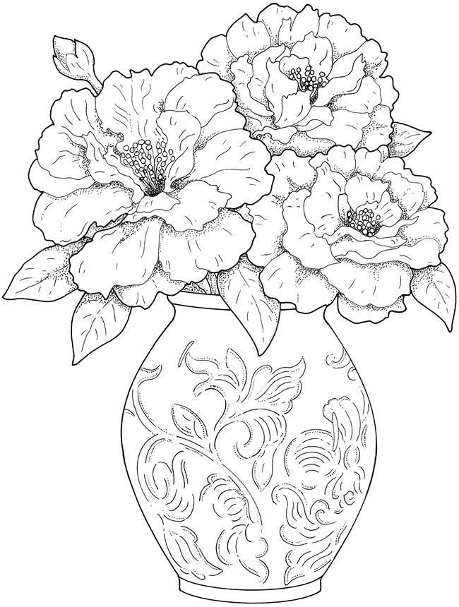 pictures to colour in of flowers free printable flower coloring pages for kids best in to of colour flowers pictures