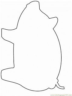 pig template for preschoolers free printable template of pig great for the three little pig template preschoolers for