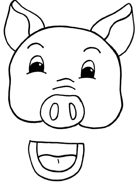 pig template for preschoolers pig template for preschoolers clipart best template preschoolers for pig